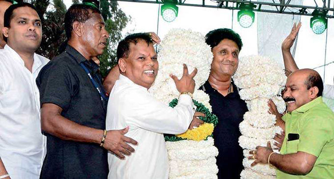 Sajith vows to fight income inequality [VIDEO]