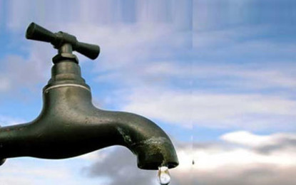 Expect Water Shortage Shortly