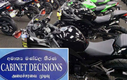 Government Decided to Provide Period of  4 Months  for Owners of non Registered Motorbikes  to Register