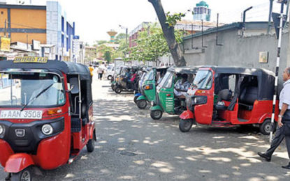 Three-Wheeler Fares Not Regulated….