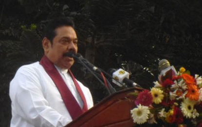 People  Likes  Me  not Other Rajapakshas – Mahinda