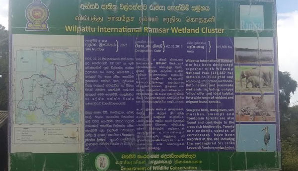 SC  to Decide  on Wilpattu Wildlife Park Road