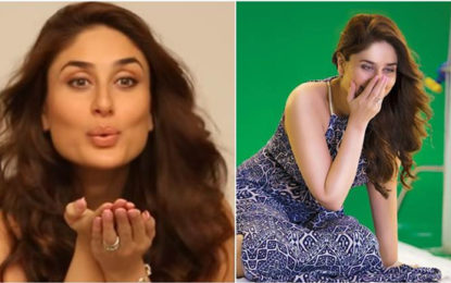 Kareena Kapoor Khan is excited about her TV debut and the making of her brand campaign is a proof. Watch video