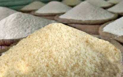 Imports of 100,000 Metric Tonnes of Rice up to Next April