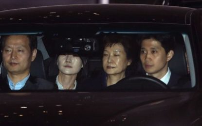 Ex-South Korean President Park Geun-hye Arrested in Corruption Probe