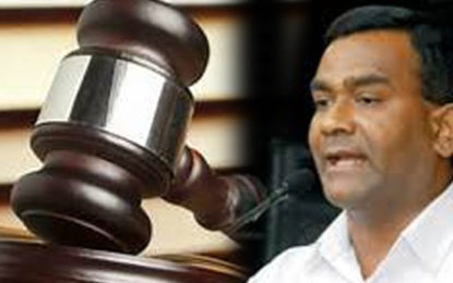 Forgery Case Against Tissa Postponed  to February 2018