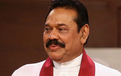 Mahinda Explains The Reason For The Country's Fall In Economy