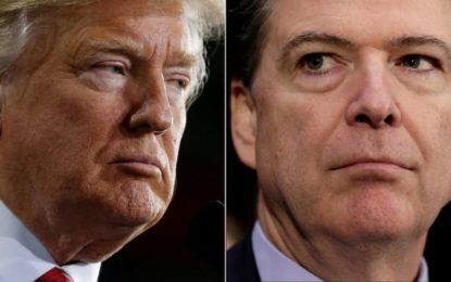 Trump Accuses Comey of Lying to Congress