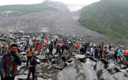 China Landslide Leaves 120 Missing in Sichuan