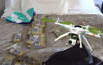 Drug Syndicate 'Used Drones to Monitor Police'