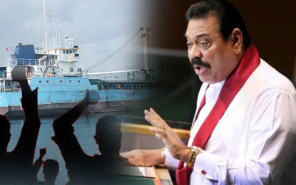 Mahinda to Lead Protest March Against Selling of  Trincomalee Port