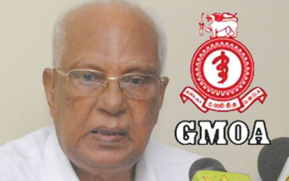 GMOA to Take Dr.Neville Fernando into Task