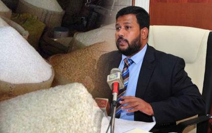 Rishad Announces Unlimited Import of Rice At Rs 5 Tax Per Kilo.