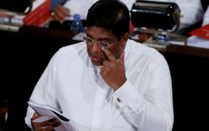 FM Ravi Resigned
