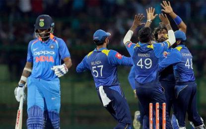 India vs Sri Lanka, Live Cricket Score, 3rd ODI: India in spot of bother against Sri Lanka at Pallekele