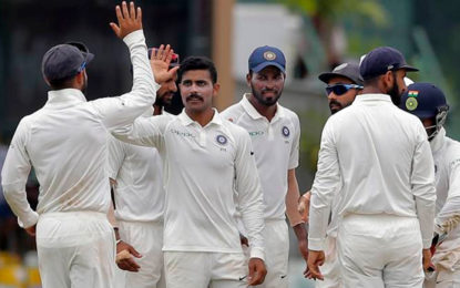 India's first innings win in Sri Lanka captures eighth consecutive series