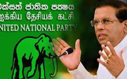 Village Level UNP Members Met President Maithri & Expressed Their Allegiance to Him
