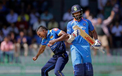 India Vs Sri Lanka, 4th ODI: India Lose Shikhar Dhawan Early Against Sri Lanka