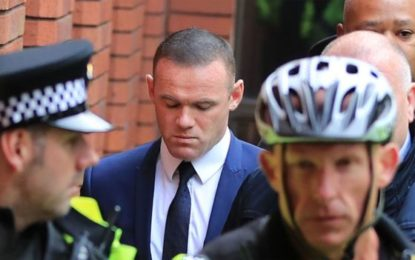 Wayne Rooney banned after admitting drink-driving
