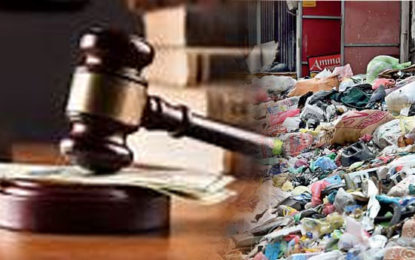Legal Action Against 800 People Dumping Garbage