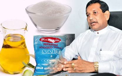 Rajitha Wants Sugar, Salt &  Oil Tax to be Increased  to Control Non-Communicable Diseases