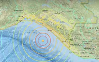 Tsunami Warning  to 8 Countries