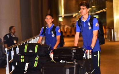 FIFA U-17 World Cup: Brazilian team arrives in Mumbai