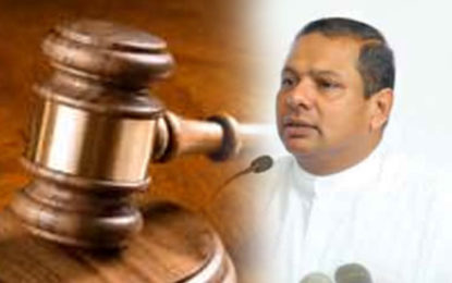 Case Against Priyankara Fixed  for Trial on 4th  December
