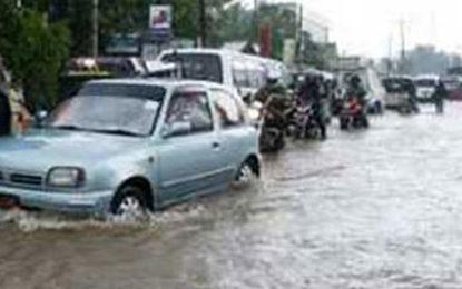 Colombo-Awissawella Road Blocked Due to Heavy Rain