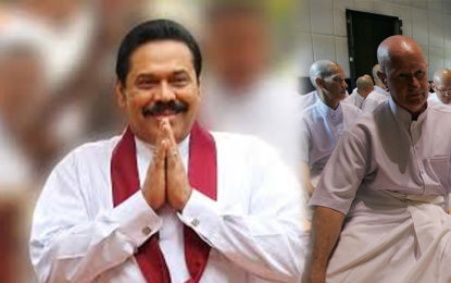 Mahinda Justified Issuing of Sil Cloth at Public Expense of 500 Million