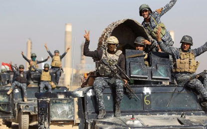 Iraqi Forces Retake Kurdish-Held Areas In Nineveh Province