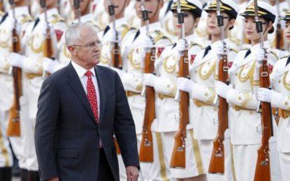 China Meets Australian Ambassador Amid 'Influence' Debate