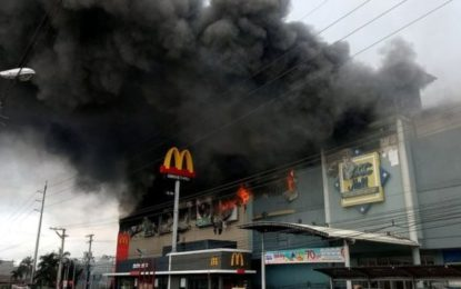 Philippines Mall Fire: At Least 37 Feared Dead In Davao
