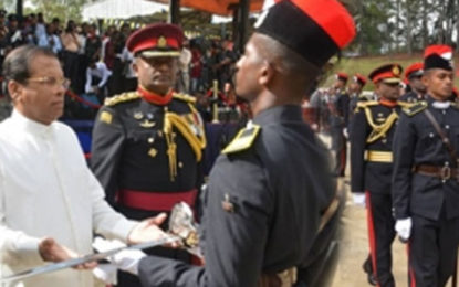 Diyatalawa SLMA Produces 191 Officer Cadets