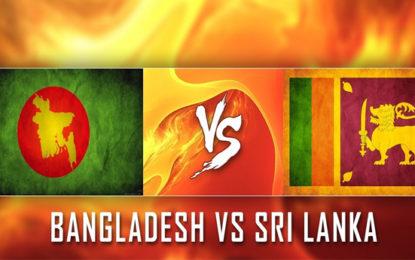 Tour Itinerary: Sri Lanka's tour to Bangladesh