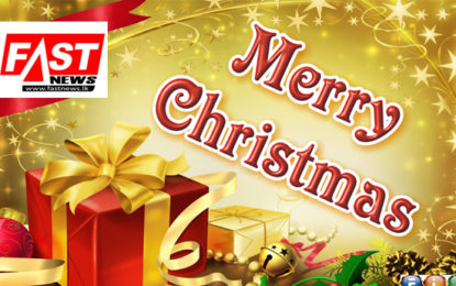 Happy Christmas Greetings for Fastnews Viewers