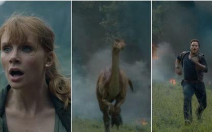 Jurassic World The Fallen Kingdom Teaser Has Dinosaurs Running Amok, Watch Video