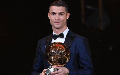 Ronaldo Moves Level With Arch-Rival Messi With Five Ballon d'Ors