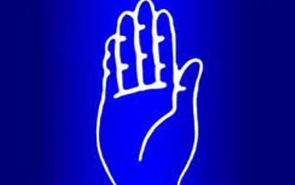 Hand Symbol in Ballot Paper