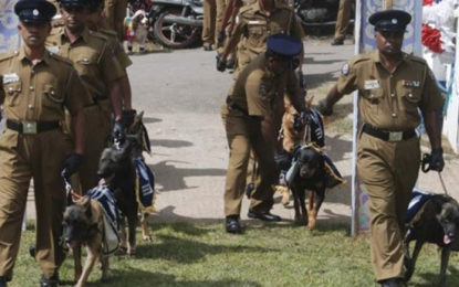 Police to Deploy Sniffer Dogs to Prevent Attack by Protesters & Demonstrators in Future
