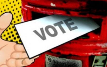 Postal Voting on January 25, 26