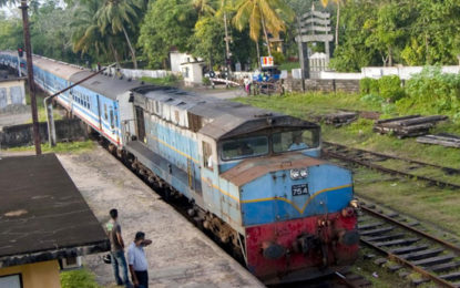 Railway Infrastructure to be Increased & Colombo-Wanathawilluwa Express Railway Line Construction to Start……