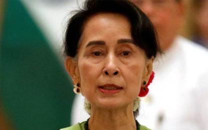 Petrol Bomb Thrown At Suu Kyi's Lakeside Villa: Myanmar Government
