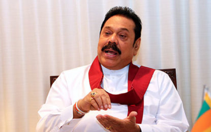 Mahinda Issued No Objection Notice to EC to Display His Photograph During LG Election Campaign?