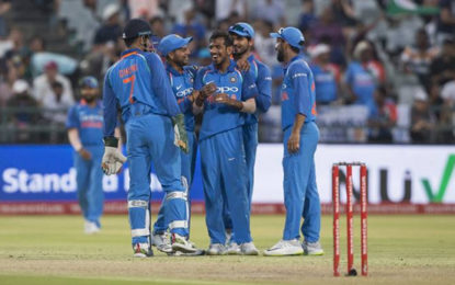 India Rise To No. 1 In ODI Rankings