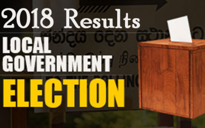 Local Government  Election 2018 Results Released