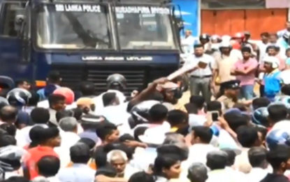 Police Used Tear Gas to Disperse Demonstrating Farmers