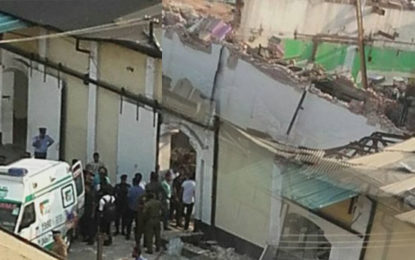 Building Collapsed in Grandpass