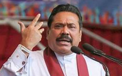 Mahinda Requests Government a General Election