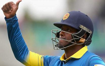 Sri Lanka Wait on Angelo Mathews's Fitness for Tri-Series